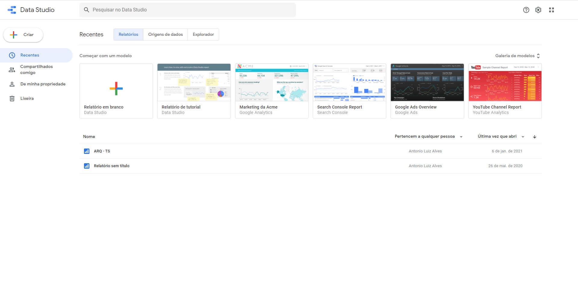 [Google Data Studio]